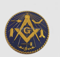 Custom Masonic Car Emblem; Masonic Items Auto Car Emblems