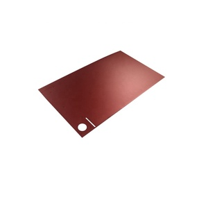 Professional Custom Sheet Metal Stamping, OEM Laser Cut Aluminum Plate, Fine Blanking Red Anodized Aluminum Pieces