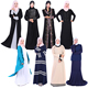 2017 wholesale saudi arab islamic abaya dubai newest thobe