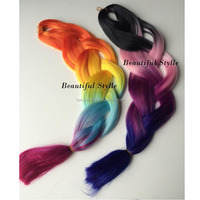 Factory Wholesale Synthetic Hair Material Heat Resistant Fiber For Braids Crochet Synthetic Braiding Hair