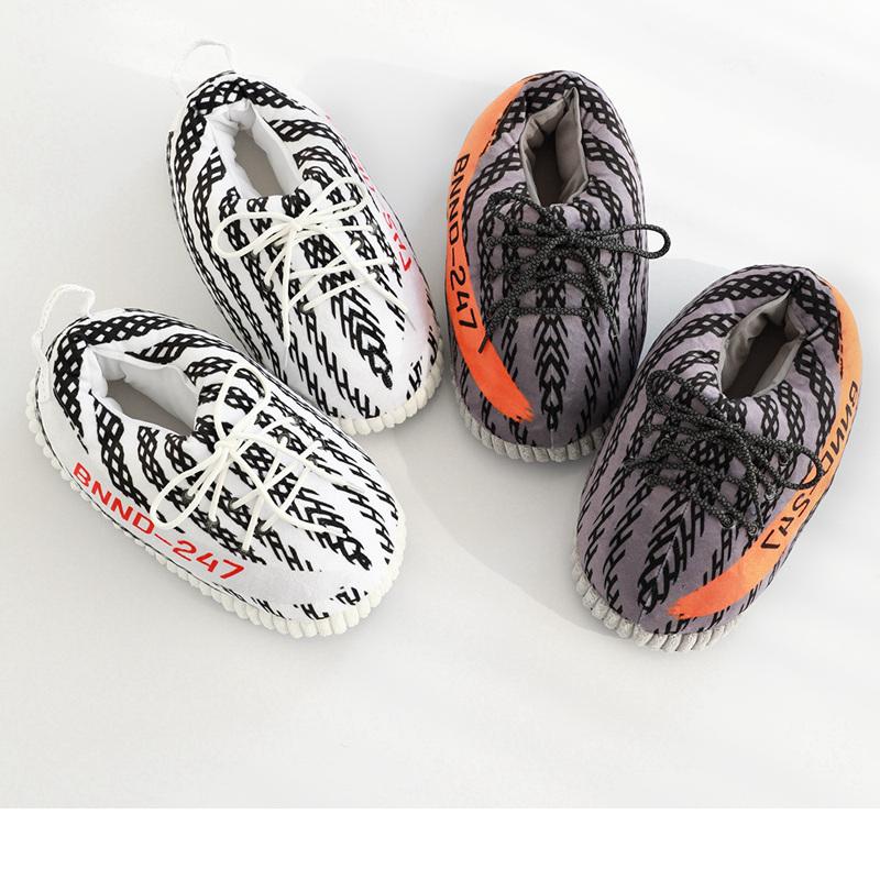 Buy Yeezy Plush Slippers,Logo Added