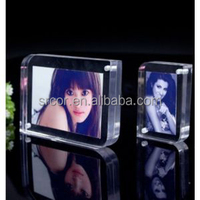 acrylic/plastic Material and Photo Frame Type hollywood movie director picture frame