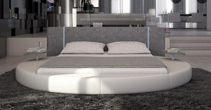 Unique Design New Style Heart Shaped LED Bed