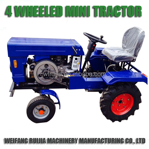 Alibaba China Machinery Supplier 4wd Diesel Mini Tractor For Sale ...