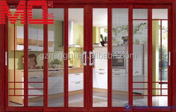 Aluminium Main Door Grill Design Aluminium Door Manufacturer