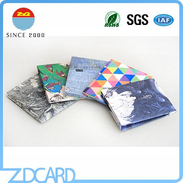 Custom written paper wallets