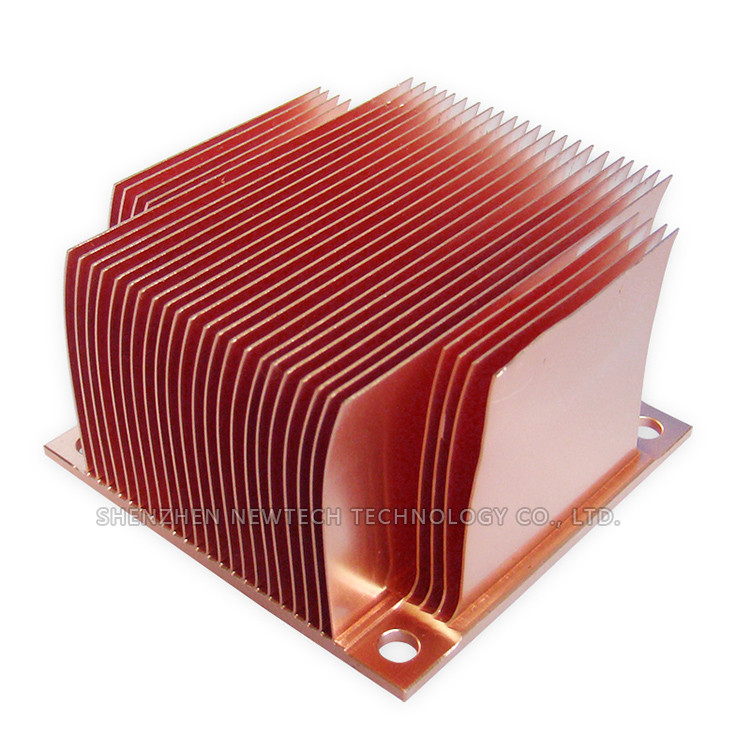 Online Shopping Skived Small Custom Copper Pc 300w Heat Sink