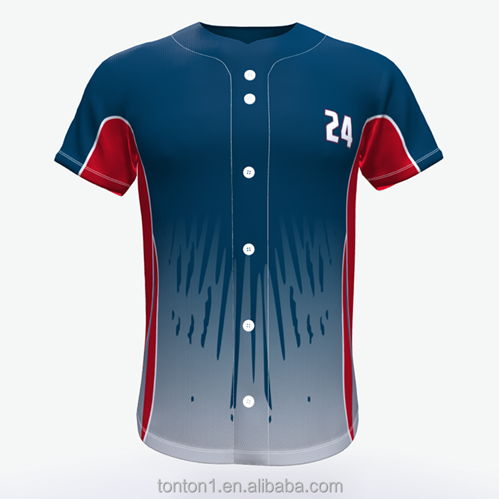 Sublimatie china honkbal jerseys