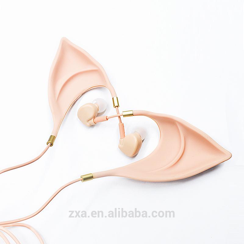 Lustige Elfenohren Design Verdrahtete Auf Ohr Katze Ohr Kopfhörer ...
