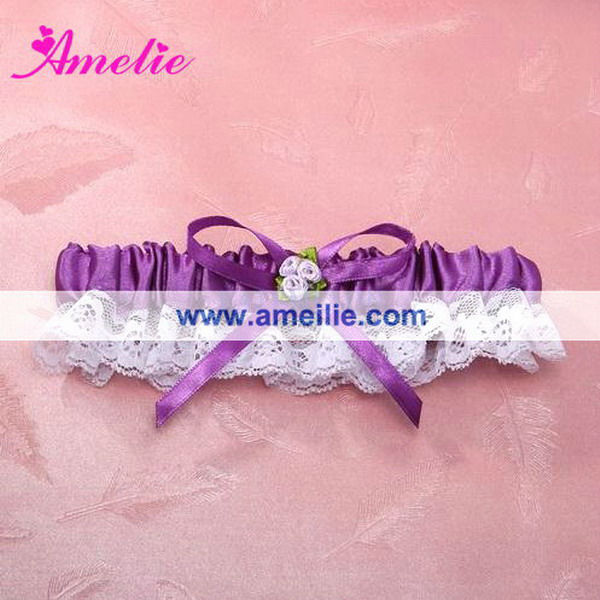 AG1082 Attractive purple garter belt for sale