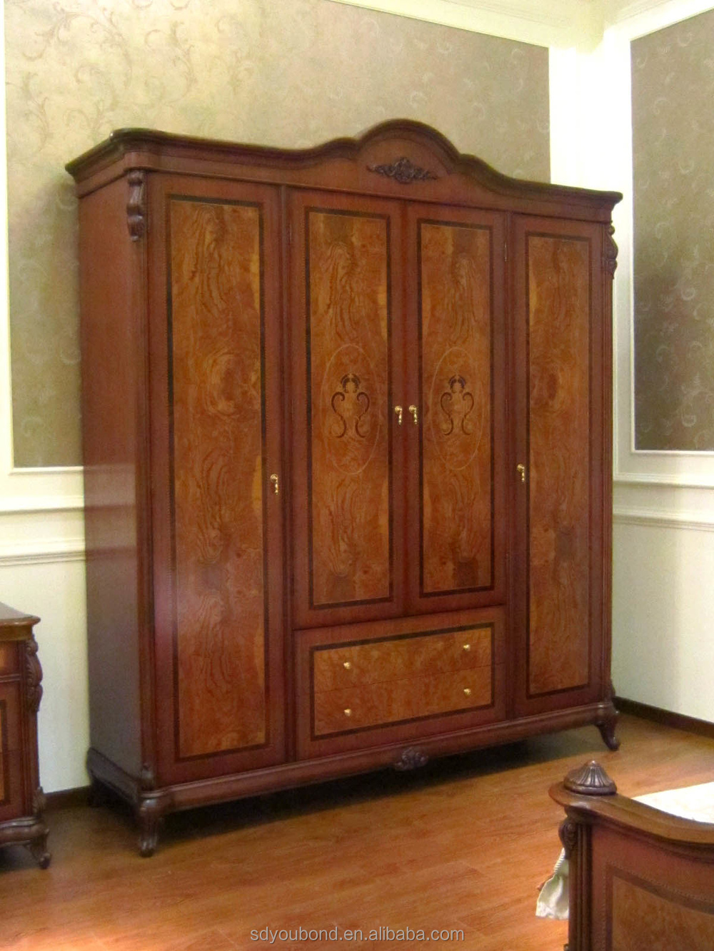 American style wooden wardrobe designs antique