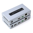 Hot items video audio one to receivers POE 1080p IR HDMI IP extender 150m