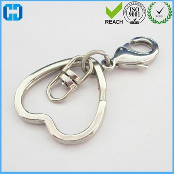 Handbag Decorative Hardware Lobster Clips With Metal Split Ring From China