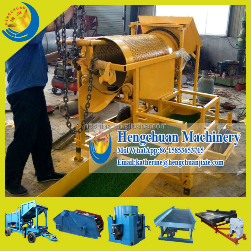 China Supplier Widely Used Good Price Portable Gold Trommel Wash Plant