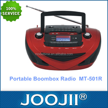 Portabel <span class=keywords><strong>boombox</strong></span> radio dengan AM/FM/SW1-2 4 band
