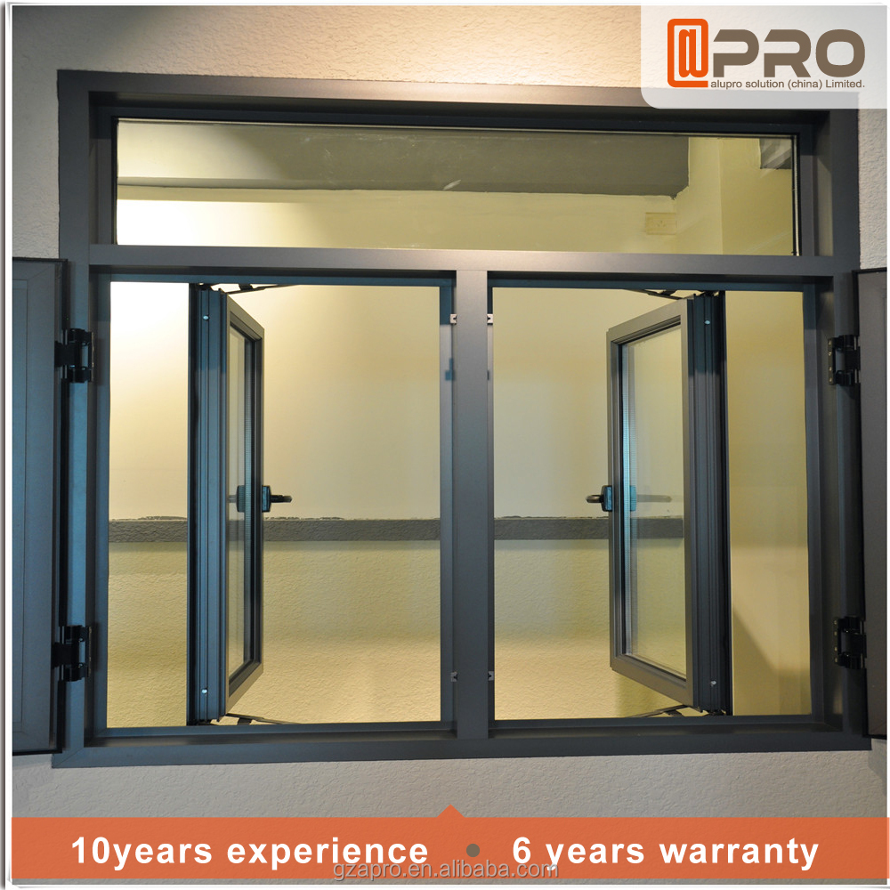 Designer door and window aluminum window frame and glass