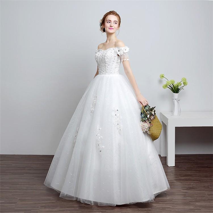 Hs1603 Cheap High Quality Cute Wedding Dress Bridal 2016