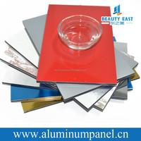 Facing Materials For Construction Decoration Exterior Aluminum Designer Plastic Wall Panel ACP