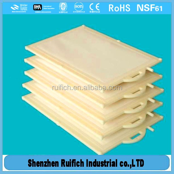 New arrival mbr submerged flat sheet membrane,flat membrane filters,pvdf mbr membrane