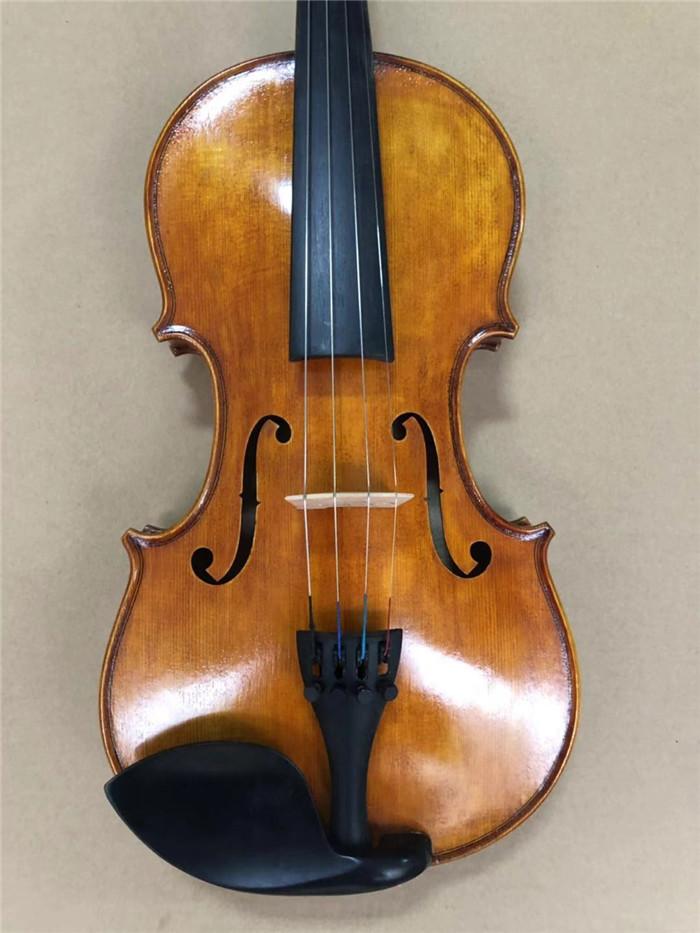 Stringed Instruments Hand Carved Maple 4 String 4/4 Violin Parts Violin Neck And Fingerboard Unfinished