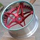 "2 pieces forged car rim for customize 18"" 19"" 20"" 21"" 22"" 24"" inch step lip by T6061 forging wheels shanghai gx forged wheels"