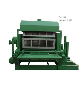 disposable pulp paper egg tray forming machine / shoe tree machine with single layer dryer