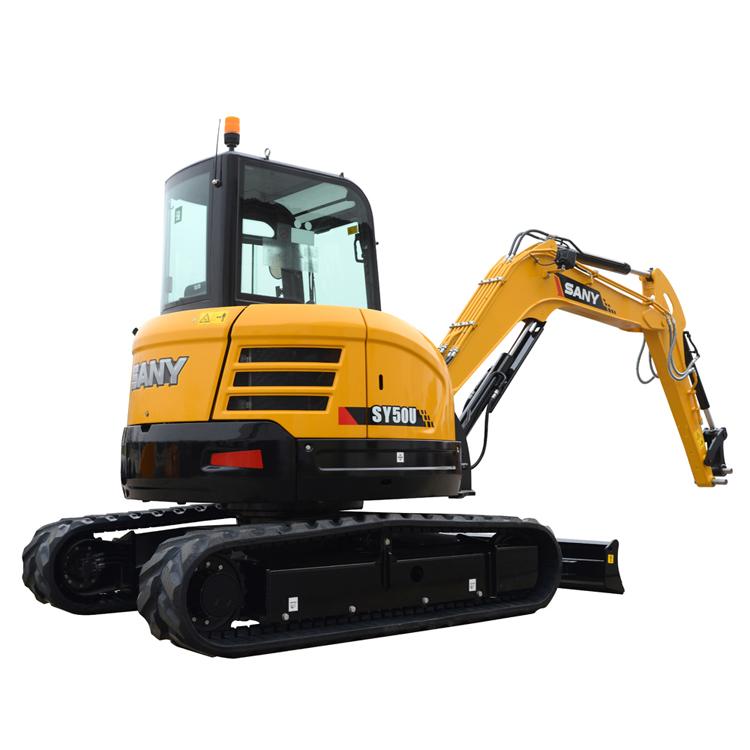 SANY 5 ton Usato Mini Escavatore Cina Crawler Escavatore SY50C