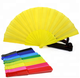 Personalized Folding Plastic Customized Wedding Shower Favor For Guests Hand Fan