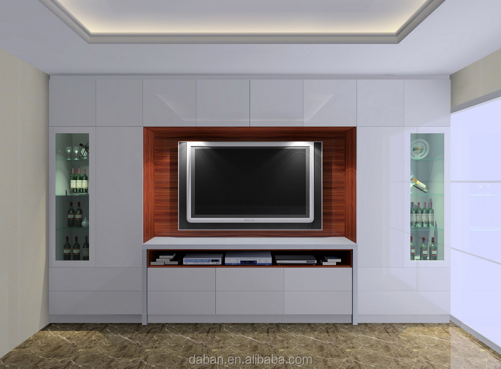 Tv hall cabinet living room furniture designs long tv for Tv cabinet designs for hall