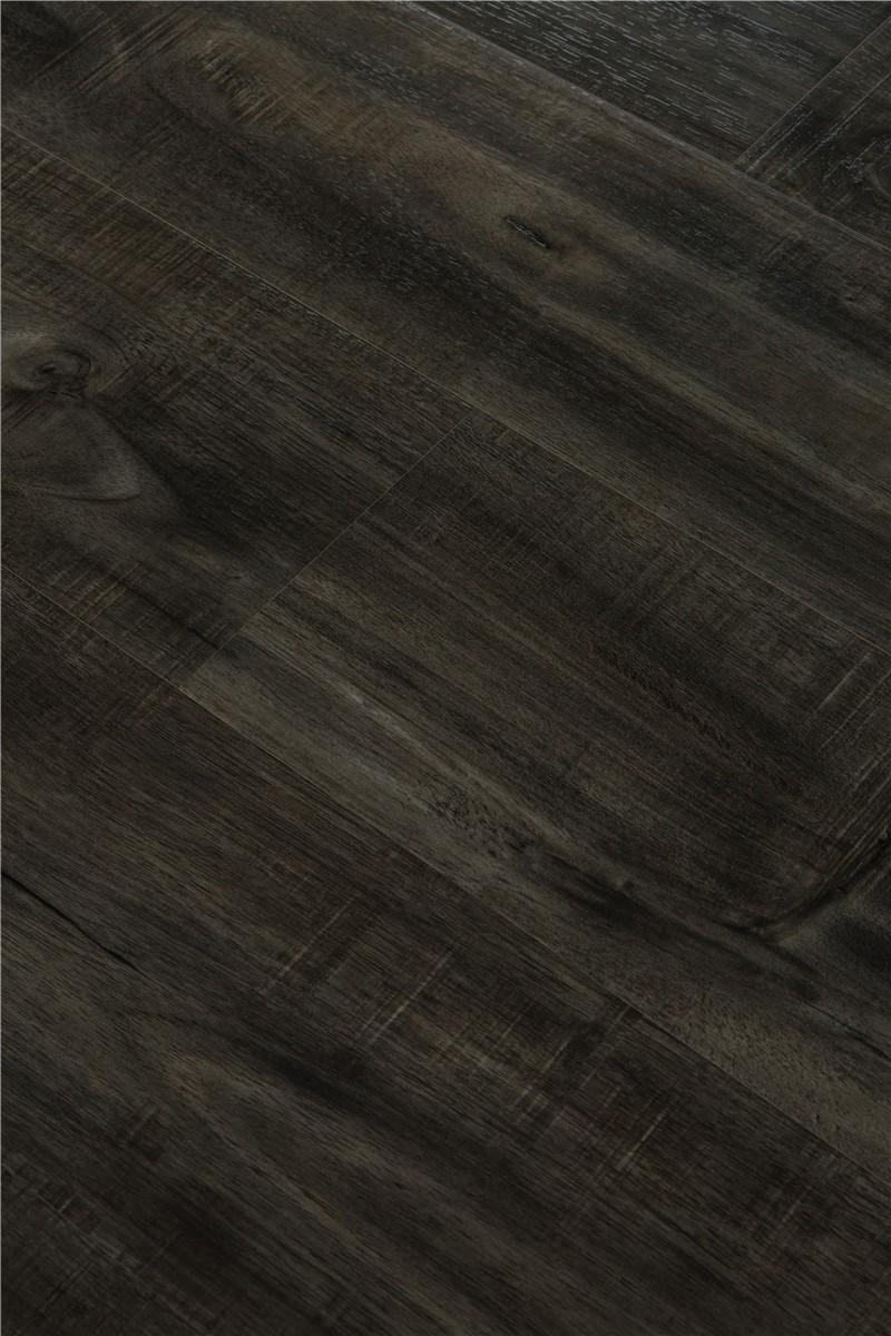 Brand new wood look rubber flooring with ce certificate for Rubber hardwood flooring