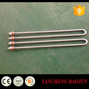 U type tubular heating element, tubular heater