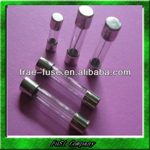 Glass Tube Fuses with C-UR/VDE/SEMKO/BSI/CCC/KC/PSE Approval, Fast Acting Type .