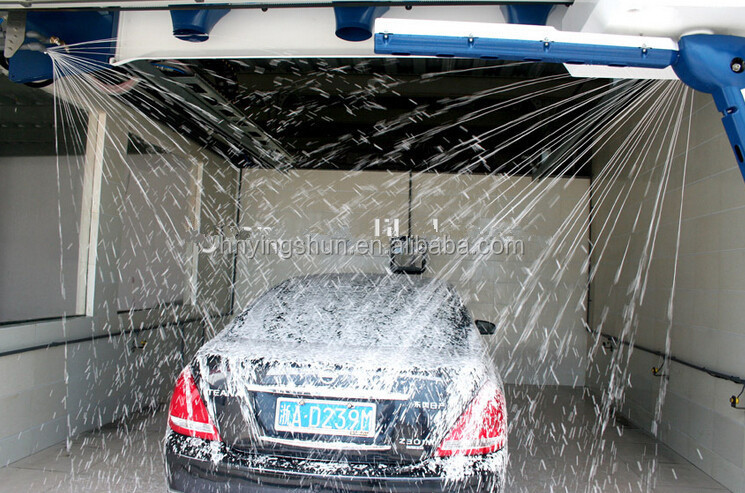 2015 Global Best Touch Free Automatic Car Wash Machine Automatic