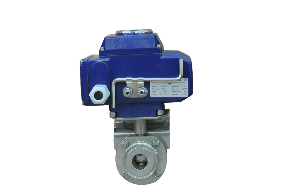 cheap price Electric sanitary ball valve NEW Mini Motorized valve for water treatment