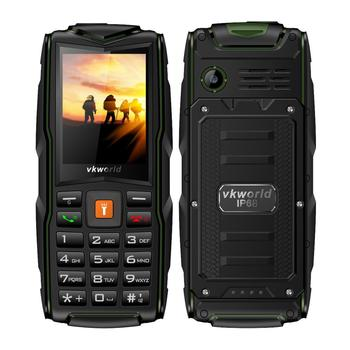 Dual Sim Mobile Phone with Voice Changer Vkworld Stone New V3 Camera Waterproof IP68 Unlocked Cheapest Elder Cell Phone