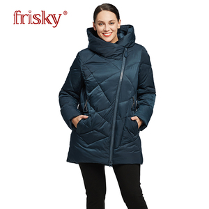 2018 women winter jacket coat Big Size Warm down jacket Women's large Parka Winter Cotton Outwear winter coat Frisky FR-8029