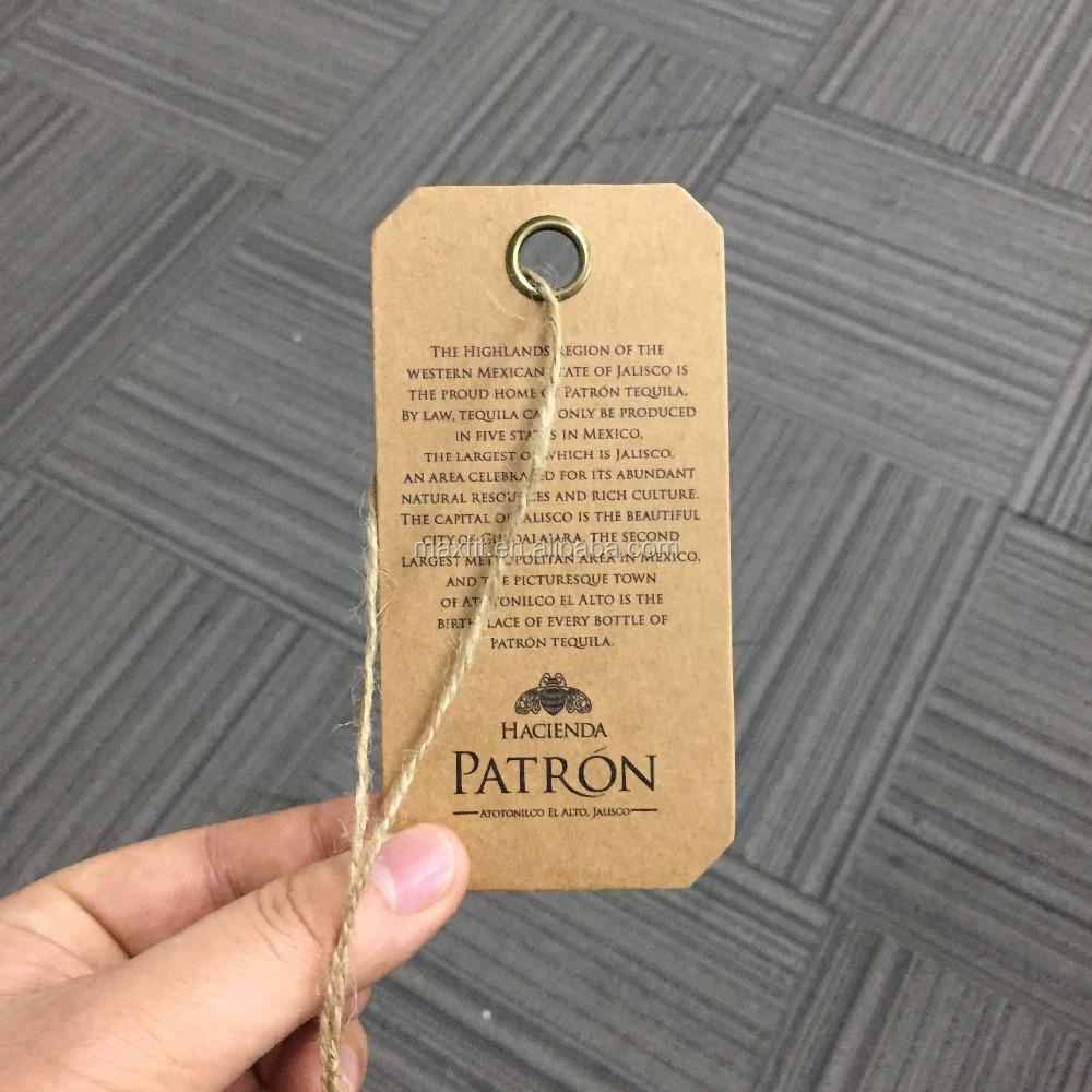 Custom Kraft Paper Hang Tags, Custom Kraft Paper Hang Tags ...