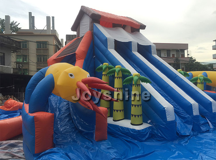 Backyard Water Play Amusement Playground Commercial Water Parks Slide Pool Equipment Kids Adult Outdoor Inflatable Water Park