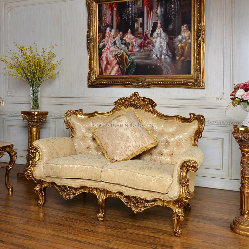 Antique upholstered chair styles - Gold Leaf Chair Gold Leaf Chair Suppliers And Manufacturers At Alibaba Com