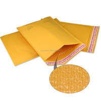 New Material Kraft Bubble,Origin kraft and Polythene bubble Material custom printed padded envelopes