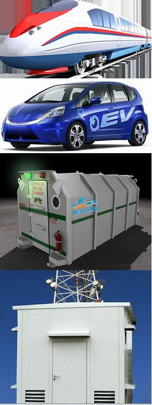 Battery Powered Parking Electric Truck Cabin Mini Air