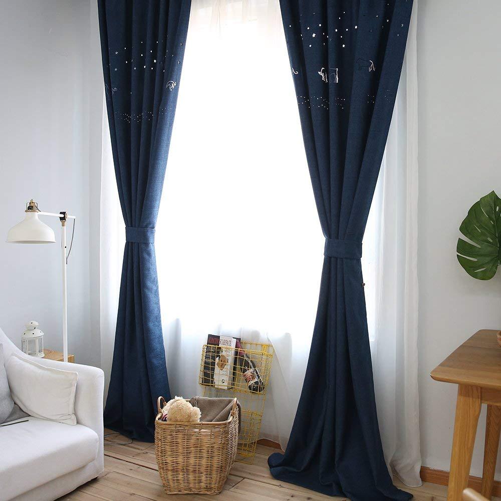 Venta al por mayor cortinas para cuartos de bebe-Compre online los ...