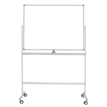 double side magnetic whiteboard with white board stand