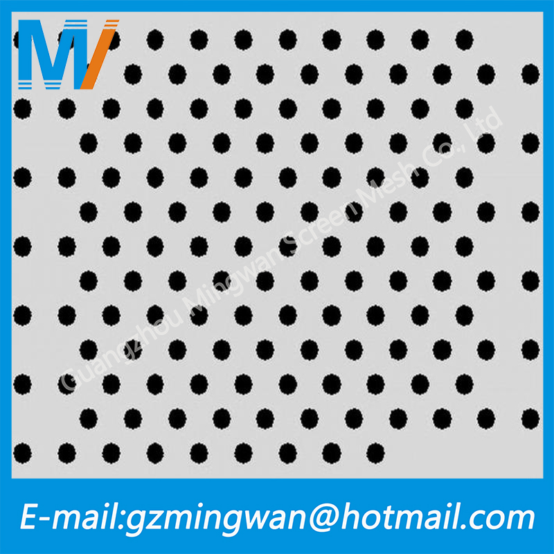 Guangdong Stainless Steel Perforated Metal Mesh/perforated Metal Mesh Speaker Grille
