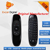 6-Axis Gyro Smart Remote controller 2.4g Wireless air mouse keyboard for smart tv