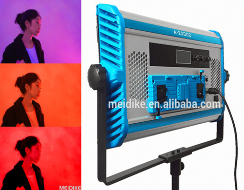 2019 Yidoblo Weiches Licht A-2200C rgb video panel licht film schießen fotografische dmx led batterie dance studio wie arri