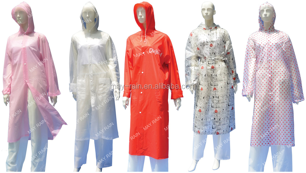 Disposable emergency PE rain poncho ball /rain coat/raincoat in ball