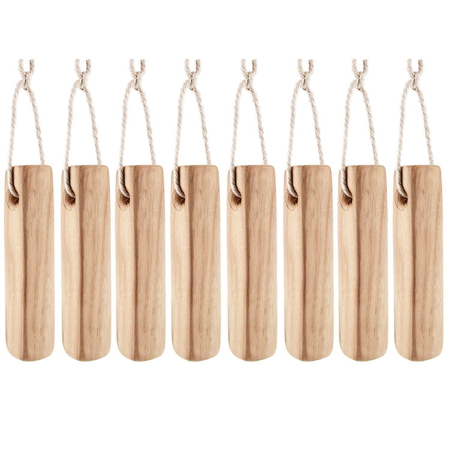 Moth Repellent, ISUDA Natural Fresh Camphor Wood Root Aromatic Non-toxic Clothes Protector and Moth Repellent Wood Mothball for Closet and Drawer Storage Accessories - 8 Pack