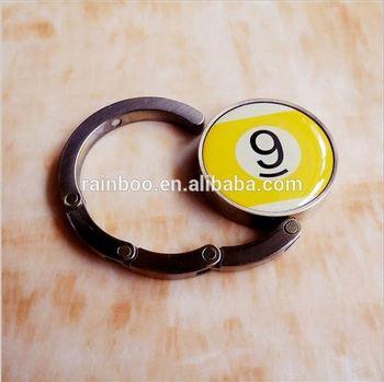 New Style Metal Mini Lady Handbag Lock Hook Holder Bracelet Purse