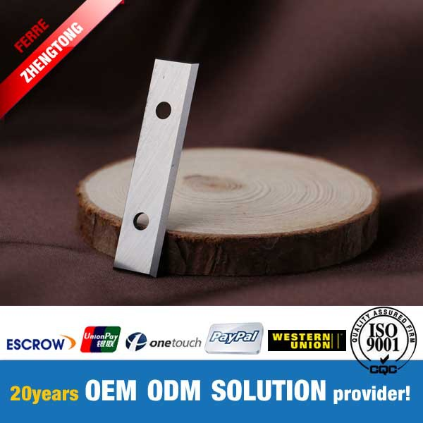tungsten carbide OEM or ODM reversible knives